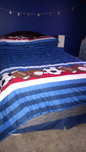 double bed mattress and box spring
