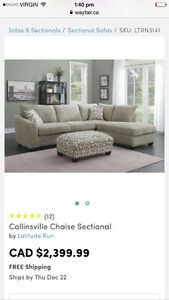 Couch (Chaise Sectional)