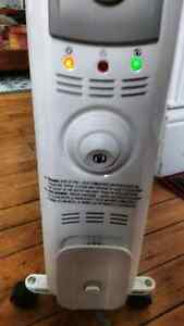 Reduced price, portable Garrison electric heater.