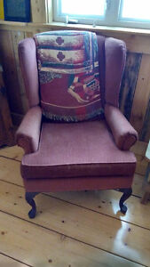 Wingback chairs and Rocker