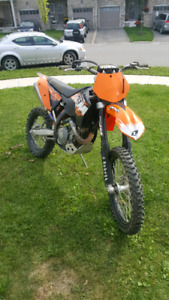 2008 KTM 450 xcf