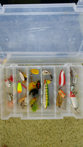 Flambeau Tackle Box with Lures