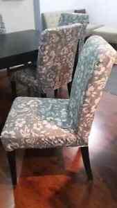 Like new ikea dinning with 6 chairs Kitchener / Waterloo Kitchener Area image 4