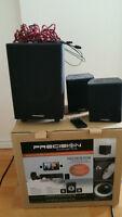 Precision Acoustics Video Cube HD 2.1 Speaker System