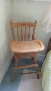 High Chair - Solid wood