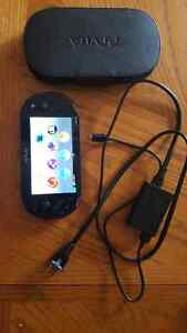 PS vita slim with case and charger
