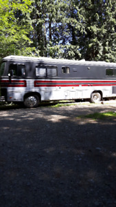 1990 barth pusher motor home for sale