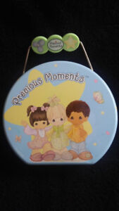 Precious Moments Lunch or Toy Box (rare, metal,  not Hallmark)