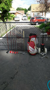 Golf Clubs, womans, excellent condition