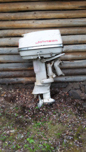 Old Johnson outboard