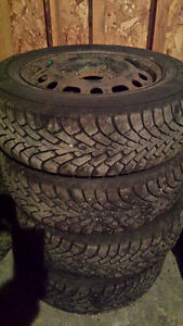 winter tires and rims 195/65/R15