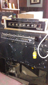 Traynor Amp and PA system