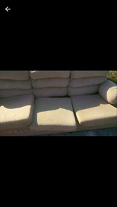 Free Couch, chair & Dbl bed frame
