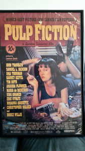 Pulp Fiction Movie Poster Framed