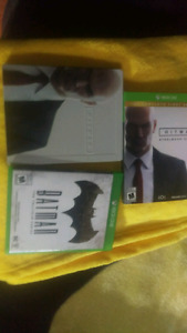 Xbox one hit man and batman