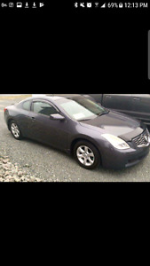 Nissan Altima coupe only 76000 km's