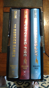 Hunger Games trilogy hardcover