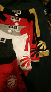 Raptors game used clothing great gifts no. 7 and 17 shorts