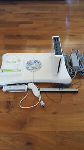 Wii system 6 games and Wii Fit Board