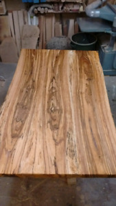 Live edge kiln dried slabs