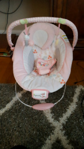 Baby girl seat