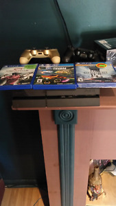 Sony ps4 with games and accessories