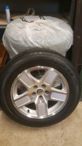 Dodge Tire and rim Package