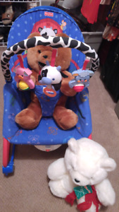 Infant/toddler vibrating& rocking chair