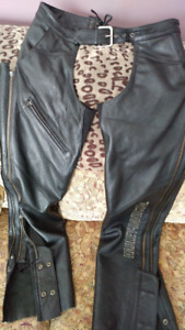 Ladies HD Leather Chaps