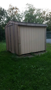 Wooden Storage Tool Shed