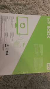 WD My Book 4TB Backup Drive *BRAND NEW, NEVER USED*