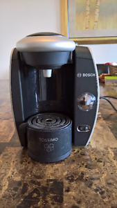Bosch Tassimo Coffee Maker with drawer