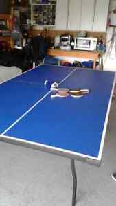 BARELY USED  PING PONG TABLE FOR SALE