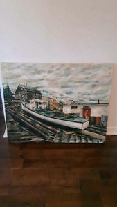 Oil painting signed Seguin negotiable