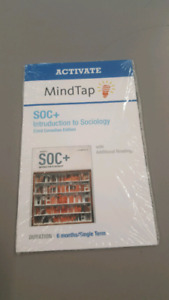 soc + mindtap only 6month access