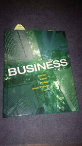 Business, Eighth Canadian Edition - Hard Cover Kitchener / Waterloo Kitchener Area image 1