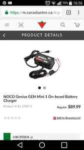 Chargeur inteligent noco genius mini 1 West Island Greater Montréal image 1