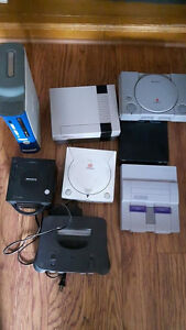 Classic game systems lot