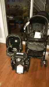 Peg Pèrego Pliko Switch Compact Stroller & Car seat