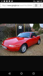 Have cash, wanting to buy mx5 miata