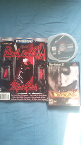 Devil may cry 1 with game Guide and devil may cry 2