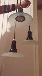Moving?Replacement hanging lamp-3 lights.$10.00