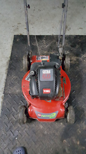 6.0hp 190cc Toro Recycler Self Propelled Mower W/Warranty.