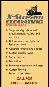 Excavating / Construction Services Moose Jaw Regina Area image 8