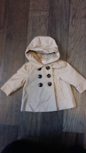 Baby girl 3-6 month spring jacket