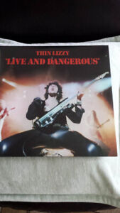 THIN LIZZY LIVE AND DANGEROUS VINYL ! NEW