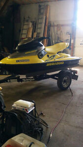 REDUCED !! Sea-doo XP Limited , only 15 hrs. On new engine