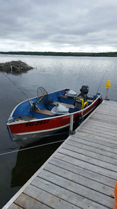 RENTALS 14 ft aluminum  boats for rent