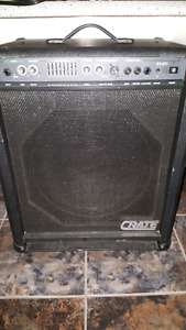 Crate bx-100 pour bass