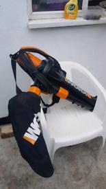 WORX WG501E All in one leaf blower/vacuum/mulcher working condition